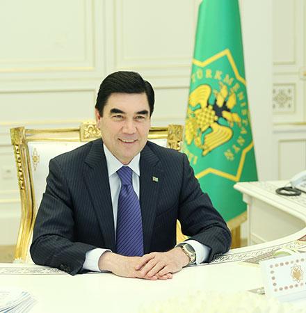 Türkmenistanyň Prezidentiniň we Russiýanyň Prezidentiniň Arasynda Gepleşikler Geçirildi